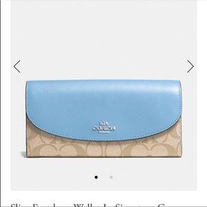 Coach Slim Envelope Wallet